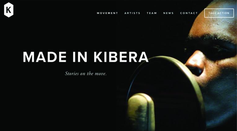 Made in Kibera: talento y música conjugados.